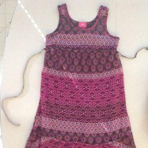 Pinky Girls Sleeveless Dress